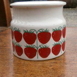 pot à fraises face