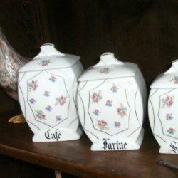 pots de conserve avec couvercle café farine sucre