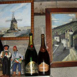 bouteille champagne billard atelier