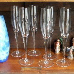 flutes à champagne hautes atelier