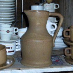tasses à café grès atelier