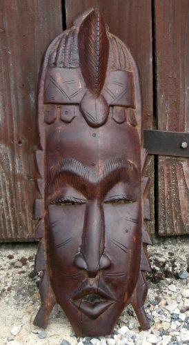 masque africain grand