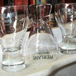 verres pierlant étagère