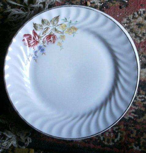 assiette plate ligne hotesse
