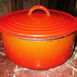 cocotte fonte orange