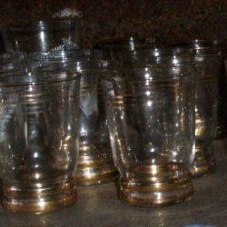 verres dorés pernod atelier