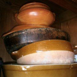 légumier grès avec couvercle rond atelier