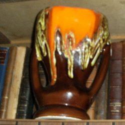 vase genre vallauris étagère