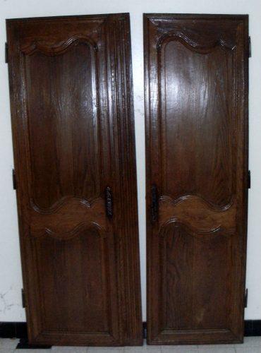 Portes fonc es d armoire normande for Porte normande