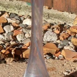 vase soliflore bariolé