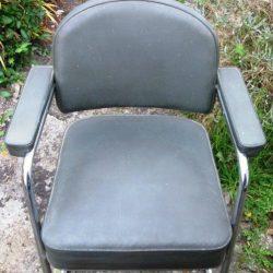 fauteuil 1960 vert avion