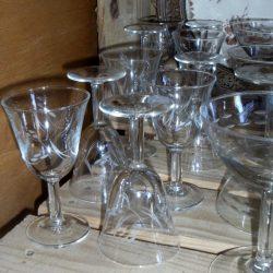 verres à vin blanc du printemps atelier