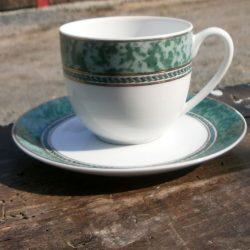 tasses à café ligne hôtesse