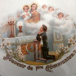 bonbonnière 1ère communion détail