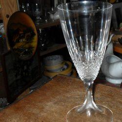 flutes en cristal gravé pm