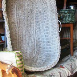 couffin osier blanc atelier