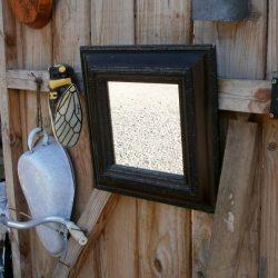 miroir carré atelier
