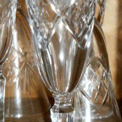 flutes à champagne cristal ciselé solo