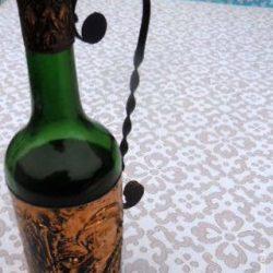 bouteille cuivrée monsieur